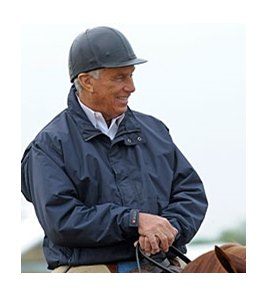 D. Wayne Lukas at Pimlico on May 16