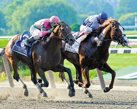 Shackleford wins the Met Mile at Belmont