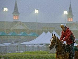 Rain Enters Forecast for Kentucky Derby Day