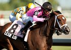 Lexie Lou winning the 2014 Woodbine Oaks