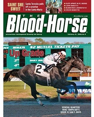 The Blood-Horse: 02/21/2009 issue