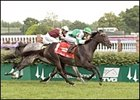 Delta Princess wins the Locust Grove over Churchill Downs' turf.