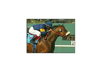 Redattore, wins third straight in Shoemaker Mile.