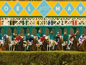 Del Mar's Total Handle Down by Nearly 6%