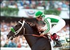 War Emblem, winning the Haskell.
