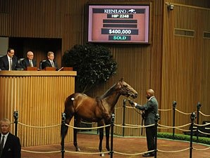 Indian Charlie Colt Tops at Keeneland
