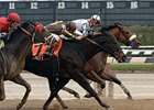 "Grand Champion (inside) scores a close victory over Joey P. and City Attraction in the Fall Highweight Handicap.<br><a target=""blank"" href=""http://www.bloodhorse.com/horse-racing/photo-store?ref=http%3A%2F%2Fpictopia.com%2Fperl%2Fgal%3Fprovider_id%3D368%26ptp_photo_id%3D2844115%26ref%3Dstory"">Order This Photo</a>"