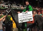 Kent Desormeaux won his 5,000 race at Saratoga on July 27.