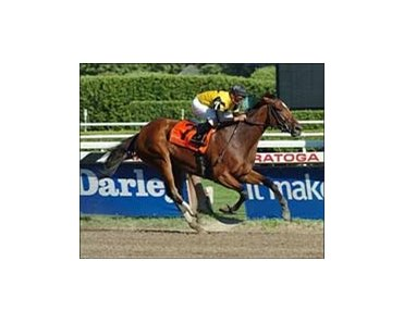 "Dream Rush and Eibar Coa win the Darley Test at Saratoga.<br><a target=""blank"" href=""http://www.bloodhorse.com/horse-racing/photo-store?ref=http%3A%2F%2Fpictopia.com%2Fperl%2Fgal%3Fprovider_id%3D368%26ptp_photo_id%3D1906168%26ref%3Dstory"">Order This Photo</a>"