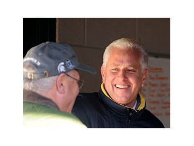 Is Todd Pletcher still smiling after the post position draw?