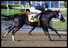 Despite troubles during the race, Repent (4) narrowly won the Louisiana Derby.