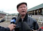 Bennie Stutts at Churchill Downs