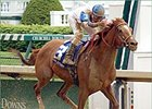 Lead Story, with Calvin Borel up, winning the Louisville Breeders' Cup Handicap at Churchill.