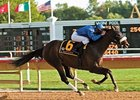 Sorcerer's Stone winning the Arlington-Washington Breeders' Cup Futurity.