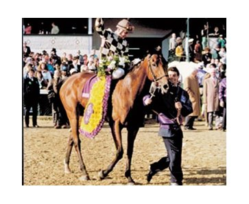 Champion Miss Alleged, one of only two fillies to win the Breeders' Cup Turf (gr. IT), was euthanized Feb. 28.