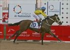 "Argentina's Asiatic Boy, ridden by Weichong Marwing, wins the UAE Derby Saturday in Dubai.<br><a target=""blank"" href=""http://www.bloodhorse.com/horse-racing/photo-store?ref=http%3A%2F%2Fpictopia.com%2Fperl%2Fgal%3Fprovider_id%3D368%26ptp_photo_id%3D950127%26ref%3Dstory"">Order This Photo</a>"