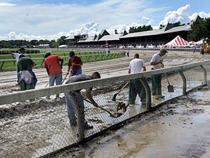 Weather Impacts Saratoga Meet Figures