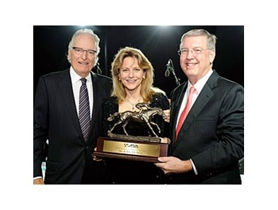 Jerry and Ann Moss were named leading national owners of 2009 by the Thoroughbred Breeders and Owners Association.