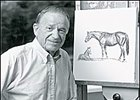 Equine artist Richard Stone Reeves, died at age 85.