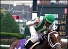 Spain, shown winning the Breeders' Cup Distaff, is back in action Thursday.