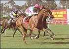 Light Jig, winning the Beverly Hills Handicap.