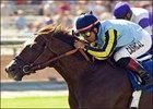 Aragorn wins the Oak Tree Breeders' Cup Mile, Saturday at Santa Anita.