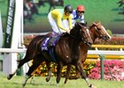 Champion Japanese mare Vodka wins the 59th running of the Yasuda Kinen (Jap-I) June 7 at Tokyo racecourse.