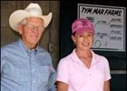 Tym Mar partners' Alan Parker and Dr. Janet Hoke.