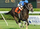 "Telling upsets a strong Sword Dancer field at Saratoga.<br><a target=""blank"" href=""http://www.bloodhorse.com/horse-racing/photo-store?ref=http%3A%2F%2Fpictopia.com%2Fperl%2Fgal%3Fprovider_id%3D368%26ptp_photo_id%3D8407520%26ref%3Dstory"">Order This Photo</a>"