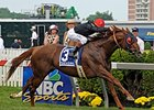 "Grade II winner Parading will join his sire, Pulpit, at stud in 2010 at Claiborne Farm.<br><a target=""blank"" href=""http://www.bloodhorse.com/horse-racing/photo-store?ref=http%3A%2F%2Fpictopia.com%2Fperl%2Fgal%3Fprovider_id%3D368%26ptp_photo_id%3D8117794%26ref%3Dstory"">Order This Photo</a>"