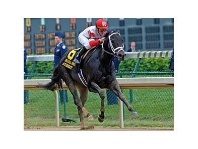 "Accredit comes home strong in the Churchill Downs Handicap.<br><a target=""blank"" href=""http://www.bloodhorse.com/horse-racing/photo-store?ref=http%3A%2F%2Fpictopia.com%2Fperl%2Fgal%3Fprovider_id%3D368%26ptp_photo_id%3D8063224%26ref%3Dstory"">Order This Photo</a>"