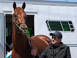 Dortmund arrives at Churchill Downs April 26.
