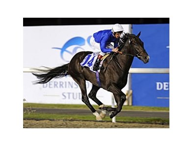 Mendip won the Derrinstown Stud Bahri Al Bastakiya on March 4 at Meydan.