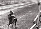 Damascus rolls to 22-length victory in the 1967 Travers.