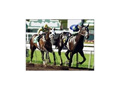 This 2005 Santa Catalina win was the last time Declan's Moon hit the wire first.
