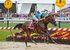 "American Pharoah's smooth strike helped win him the Preakness.<br><a target=""blank"" href=""http://photos.bloodhorse.com/TripleCrown/2015-Triple-Crown/Preakness-Stakes-140/i-NmjcXM6"">Order This Photo</a>"