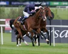 Dylan Thomas Makes History in Irish Champion Stakes
