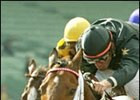 Buddy Gil, right, defeats Atswhatimtalknbout in the San Felipe.