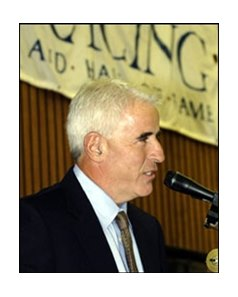 Hall of Fame trainer Nick Zito at Monday's induction ceremony.
