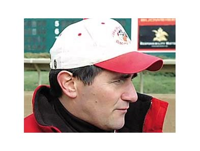 Trainer Jake Radosevich won his 1,000th race at Beulah Park Jan. 14.