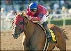 Molengao and Garrett Gomez win the San Antonio Handicap, Sunday at Santa Anita.