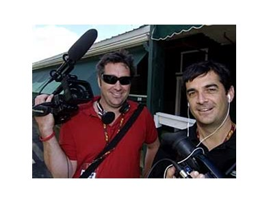 "Filmmakers John (left) and Brad Hennegan have partnered with Churchill Downs Inc. and Truly Indie for distribution of the brothers' award-winning documentary ""The First Saturday in May""."
