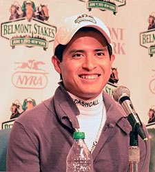 Gutierrez Displays Calm Before Belmont Test