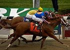 Rags to Riches historic win in the Belmont Stakes (gr. I) topped the 2007 spring/summer meet.