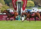 "Olympic Glory comes home strong to win the Qatar Prix Jean-Luc Lagardere-Grand Criterium.<br><a target=""blank"" href=""http://photos.bloodhorse.com/AtTheRaces-1/at-the-races-2012/22274956_jFd5jM#!i=2134090569&k=svNt3rK"">Order This Photo</a>"