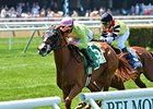 "Rosalind surges to victory in the Sheepshead Bay Stakes.<br><a target=""blank"" href=""http://photos.bloodhorse.com/AtTheRaces-1/At-the-Races-2015/i-SkBZq5j"">Order This Photo</a>"