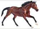 Breyer miniature salutes injured Kentucky Derby winner Barbaro.