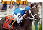 Smarty Jones rolls to victory in the Preakness.