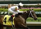 Datrick wins Kentucky Breeders' Cup for 2-year-olds, Thursday at Churchill Downs.