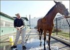 Winter closure of Pimlico sent some backstretch workers to other tracks and left many unemployed.